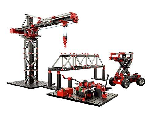 fischertechnik 536622 Experimentierbaukasten Mechanic + Static 2 - der optimale Technik Baukasten um die...