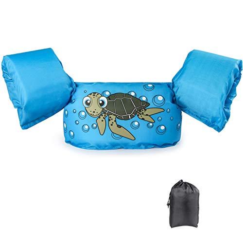 JEVDES Schwimmflügel Schwimmweste mit Schultergurt für Kinder Kleinkinder von 2-7 Jahre 15-30kg...