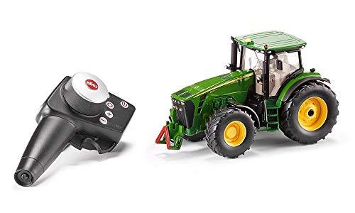 siku 6881, Ferngesteuerter John Deere 8345R Traktor, 1:32, Inkl. Fernsteuermodul, Metall/Kunststoff,...