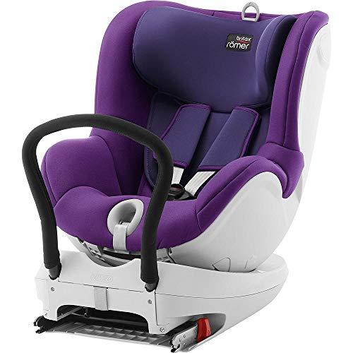 Britax Römer Kindersitz 0 - 4 Jahre I 0 - 18 kg I DUALFIX Autositz Gruppe 0+/1 I Mineral Purple