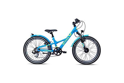 S'cool XXlite Alloy 20 7-S Kinderfahrrad Kinderrad Blue/Petrol 6264