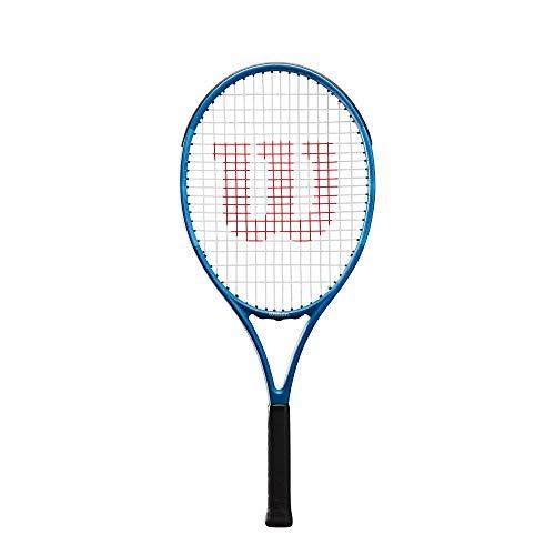 Wilson Tennisschläger Ultra Team 25, für Kinder im Alter von 9 -10 Jahre, AirLite-Legierung, blau,...