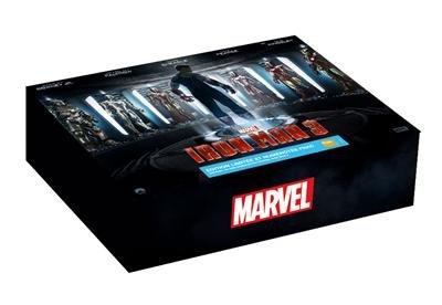 Iron Man 3 - schwere Luxus Box - Edition Limited Fnac - inkl. 3 Figuren - Gift Card + Ultimate Guide auf...