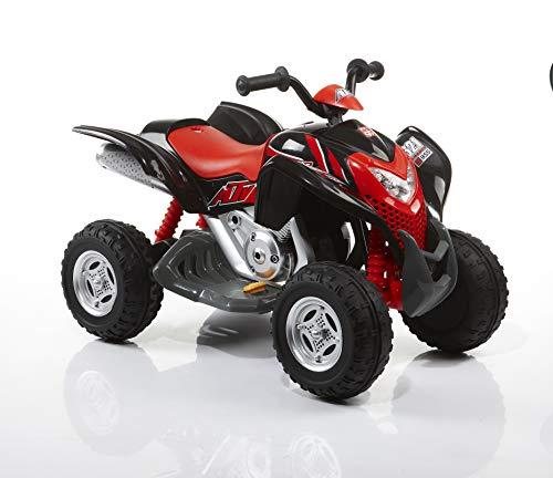 ROLLPLAY Elektro-Quad, Für Kinder ab 3 Jahren, Bis max. 35 kg, 6-Volt-Akku, Bis zu 4 km/h, Powersport...