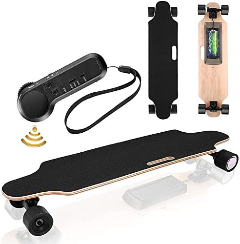 Elektrisches Skateboard Longboard E Komplettboard Elektrisches City Skateboards Elektrolongboard mit...