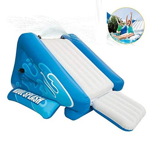 QINYUP Wasserrutschen Splash Aufblasbare Spielcenter Schwimmbad Wasserrutsche Zubehör Aufblasbares...