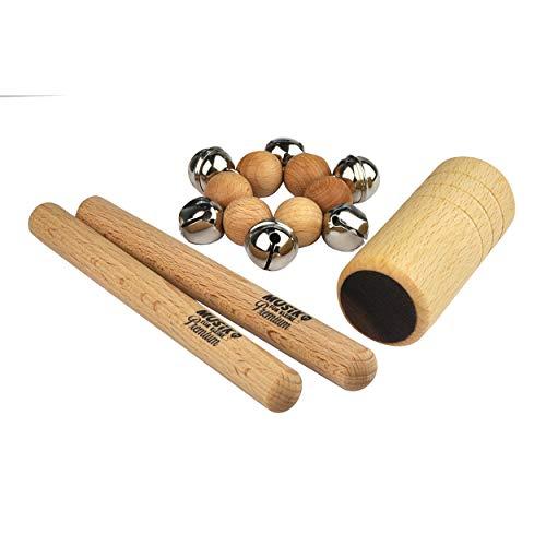 Voggenreiter Mini-Percussion-Set - aus der Serie Musik für Kleine Premium - hergestellt in Deutschland -...