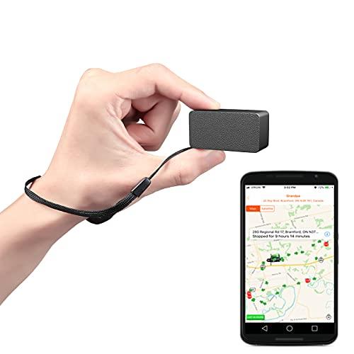 mini gps tracker auto mit free app klein locator fahrrad anti-thief echtzeit tracking für kinder hund...