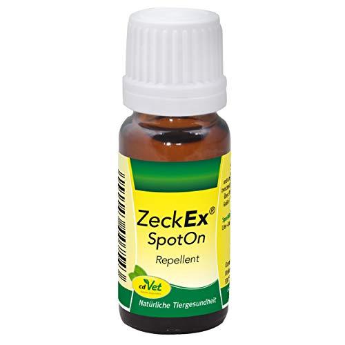 cdVet ZeckEx SpotOn rein pflanzliches Zeckenmittel 10 ml - natürlicher Zeckenschutz ohne Chemie für...
