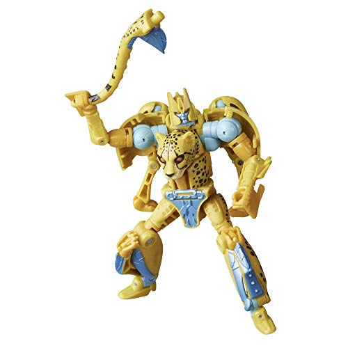 Transformers F0669 Spielzeug Generations War for Cybertron: Kingdom Deluxe WFC-K4 Cheetor Action-Figur...