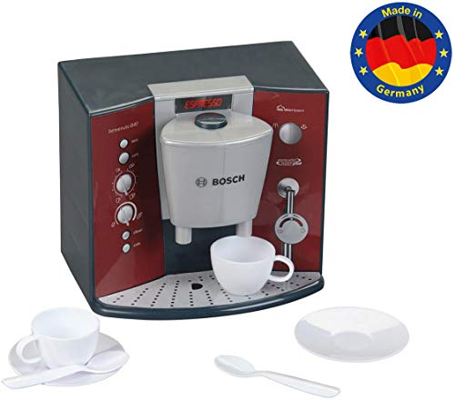 Theo Klein 9569 Bosch Kaffeemaschine mit Sound I Batteriebetriebene Espressomaschine mit realistischen...