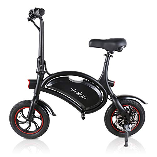 Windgoo E-Roller B3 36V 6.0AH schwarz tragbarer Elektroroller faltbares Elektrofahrrad