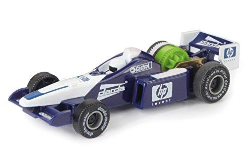 Darda 4006942503230 Auto Rennwagen Formula blau/weiß ca. 7,5 cm