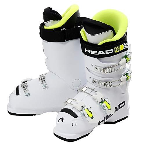 HEAD Kinder Raptor 60 Skischuhe, White, 255