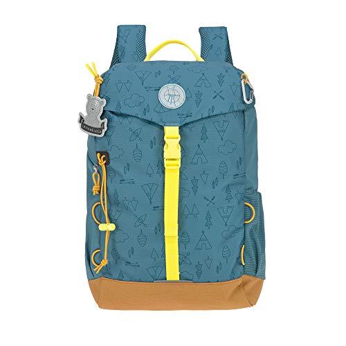 LÄSSIG Kinder Wanderrucksack Kinderrucksack Ausflug ab 5 Jahre /Outdoor Backpack Big Adventure Blau, 14...