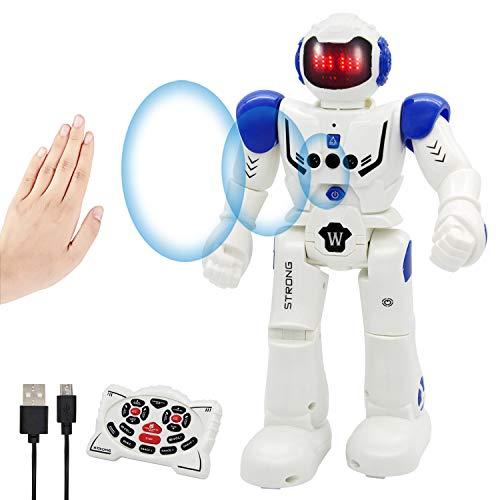 Vindany Intelligente RC Roboter Spielzeug Weihnachts-Geburtstagsgeschenk Fernbedienung Geste Steuerung...