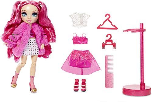 Rainbow High 572121EUC Fashion Doll - Stella Monroe - Rosa Puppe mit Luxus-Outfits, Accessoires und...