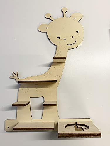 DIY Regal Baby Giraffe für die Musikbox passend für Toniebox Kinder Baby Zimmer zum selbst bemalen mit...