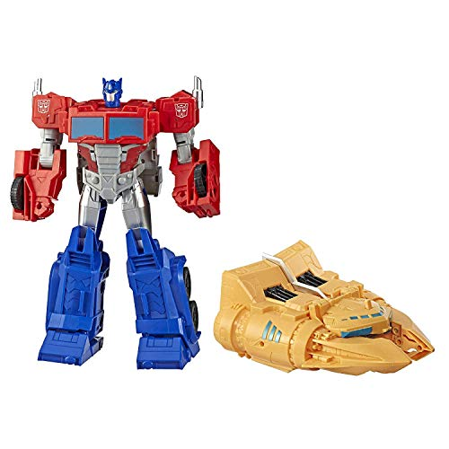 Transformers Spielzeuge Cyberverse Spark Armor Ark Power Optimus Prime, 30 cm. große Actionfigur, ab 6...