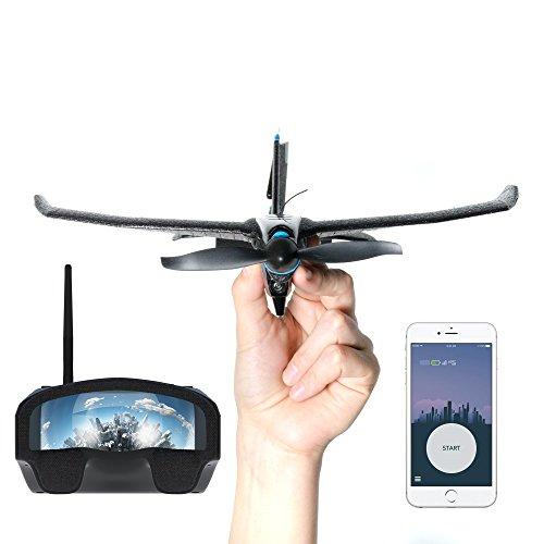 TobyRich SmartPlane Pro FPV: Smartphone App gesteuertes VR Stuntflugzeug - ferngesteuerte Virtual Reality...