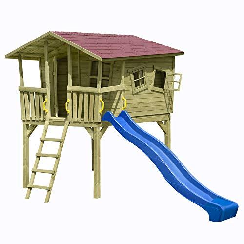 Baumhaus / Stelzenhaus Spielhaus CRAZY Leon 226x240x304cm