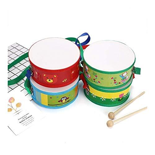 Dirgee 15 cm Spielzeug musikalinstrument Trommel niedlich Holz mit Kunststoff Papier Schmerz Spielzeug...