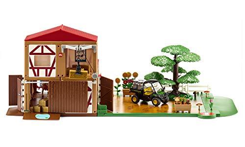 siku 5608, Bauernhof, Kunststoff, Multicolor, Inkl. Fahrzeug und Zubehör, Vielseitig aufbaubar, Viele...