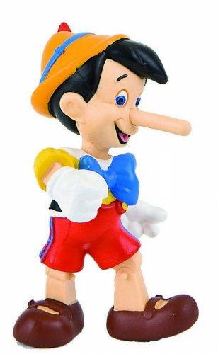 Bullyland 12399 - Spielfigur, Walt Disney Pinocchio, ca. 6 cm, ideal als Torten-Figur, detailgetreu,...
