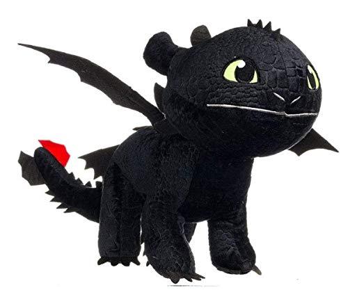 HTTYD Drachenzähmen leicht gemacht - Dragons - Plüsch Figur Kuscheltier Drachen Ohnezahn Toothless...