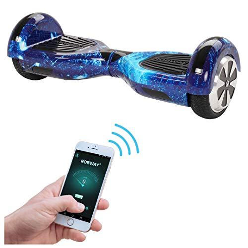 Robway W1 Hoverboard - Das Original - Samsung Marken Akku - Self Balance - 22 Farben - Bluetooth - 2 x...