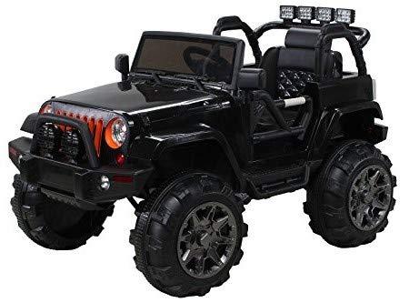 Actionbikes Motors Offroad Jeep Adventure - 2 x 35 Watt Motor - Reifen mit Weichgummiring - Fernbedienung...
