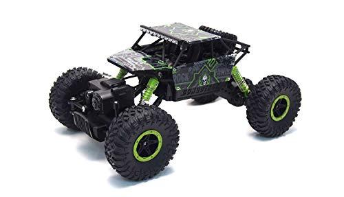 Amewi 22194 Fahrzeug 22194-Conqueror 4WD RTR Rock Crawler, 1:18 grün
