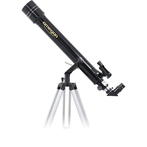 Omegon Teleskop AC 70/700 AZ-2, Fernrohr für den Sternenhimmel mit 70mm Öffnung und 700mm Brennweite