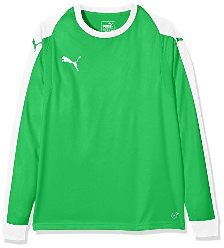 PUMA Kinder Liga Torwart Trikot, grün (Bright Green/PUMA White), 140