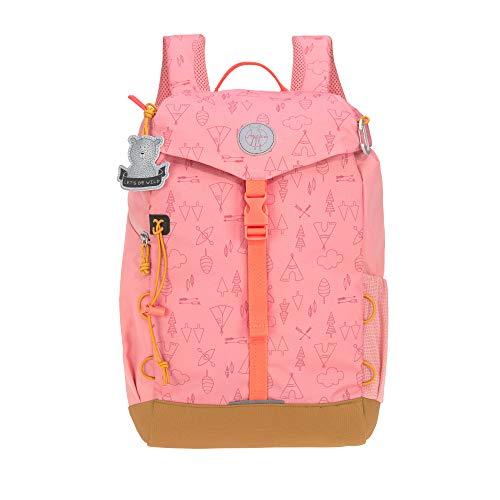 LÄSSIG Kinder Wanderrucksack Kinderrucksack Ausflug ab 5 Jahre /Outdoor Backpack Big Adventure Rosa, 14...