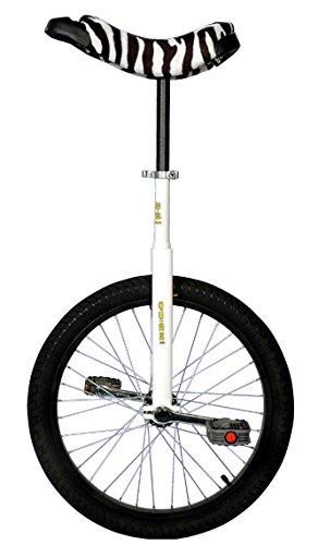 QU-AX Einrad 20 Zoll Radgröße in Allen Farben, Farbe:weiß