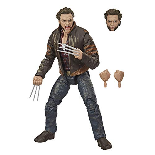 Hasbro Marvel Legends Series X-Men Wolverine 15 cm große Action-Figur, enthält 3 Accessoires, ab 14...