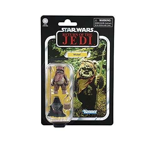 Star Wars The Vintage Collection Wicket Toy, 9,5 cm Scale Star Wars: Return of The Jedi Actionfigur,...