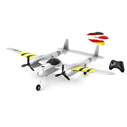 Himoto HSP RC ferngesteuertes Mini Flugzeug mit Akku, Fernsteuerung und USB-Ladekabel, Modell mit 2.4GHz...