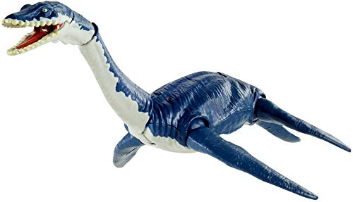 Jurassic World GVG50 - Dino Rivals Dino-Angriff Plesiosaurus, Dinosaurier-Actionfigur, bewegliche Arme...