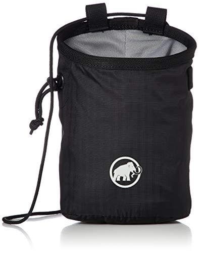 Mammut Unisex-Erwachsene Basic Chalk Bag Magnesiabeutel, schwarz, Einheitsgröße
