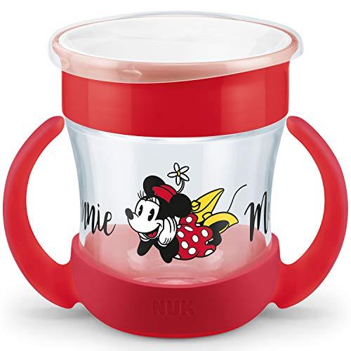 NUK Disney Mini Magic Cup Trinklernbecher | auslaufsicherer 360° Trinkrand | praktische Griffe | 160ml |...