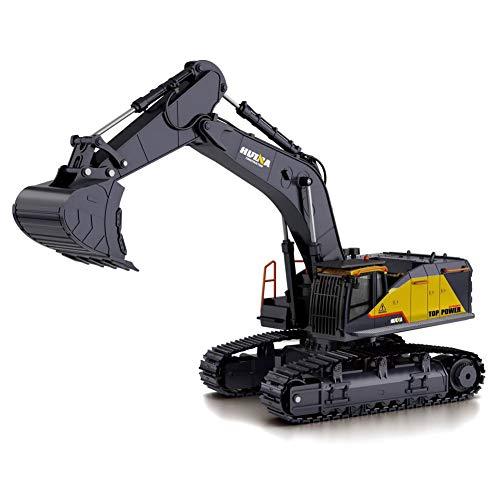 EXUVIATE 1:14 RC Bagger 2,4 Ghz Baustellenfahrzeug Raupenbagger, Bagger, Baustellenfahrzeug, Fahrzeug RC...