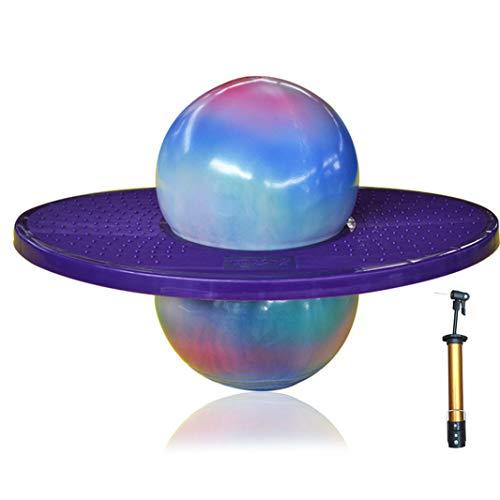 Du Du Gymnastikball Hüpfball Ball Hüpfen Spaß Jumping Ball Balance Board Trainieren Gleichgewichtssinn...