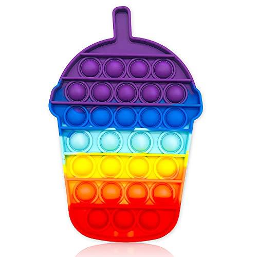 Pop Fidget Toy Antistress Spielzeug für Erwachsene und Kinder Anti Stress Sensorik Simple Dimple Fidget...