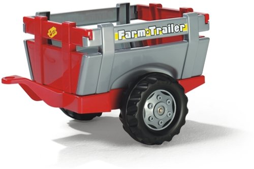 Rolly Toys S2612209 rollyFarm Trailer Anhänger Kinderfahrzeuge (Alter 2,5-10 Jahre, Heckklappe,...