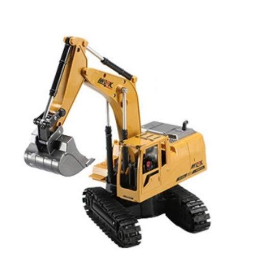 Lihgfw Fernbedienung Bagger Spielzeug Channel Engineering Fahrzeug Legierung elektrische Fernbedienung...