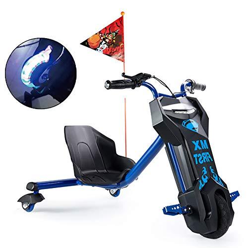 Electric Scooter Drift-Trike Elektro Elektrisches Dreirad Für Kinder Drift Trike ABS-Material, Mit PU...