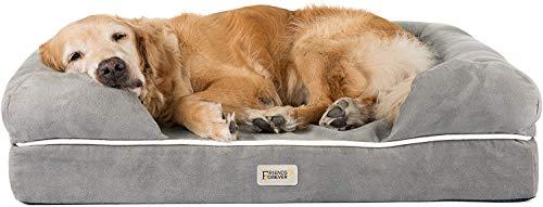 SCM Orthopädisches Hundebett Tierbett Memory Foam Hundesofa Dog Bed Premium Prestige Edition Hundekorb...