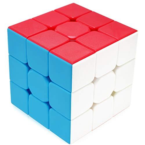 Maomaoyu Zauberwürfel 3x3 3x3x3 Original Speed Stickerless Magic Cube Puzzle Magischer Würfel für...